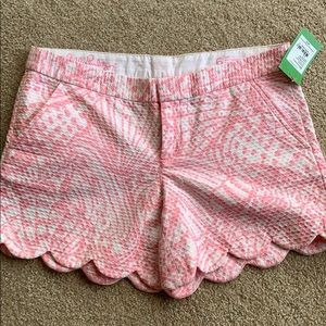 NWT Lilly Pulitzer Buttercup shorts